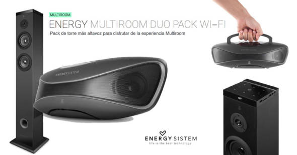 Energy Multiroom Duo Pack WiFi