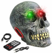 LED Eyes Skull Speaker