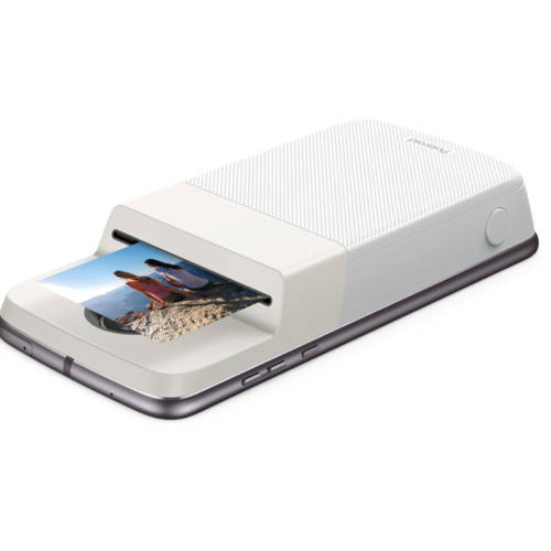 Captura, imprime y comparte con el moto mod Polaroid Insta-Share Printer