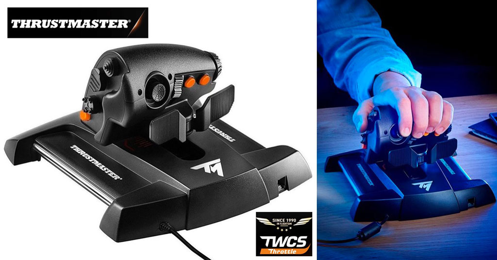 Concuro Thrustmaster TWCS Throttle