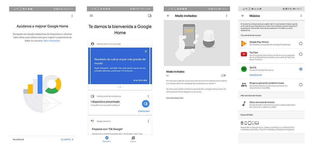 Google Home en español review