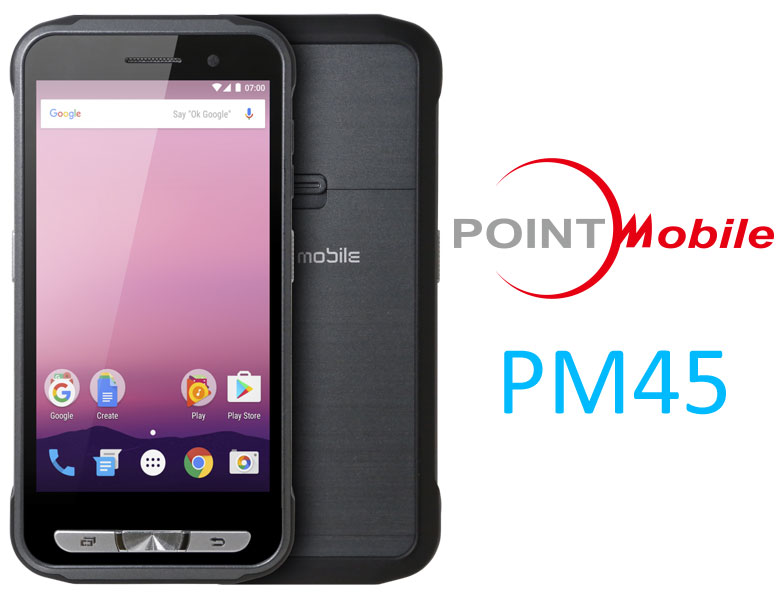 Point Mobile PM45 móvil resistente