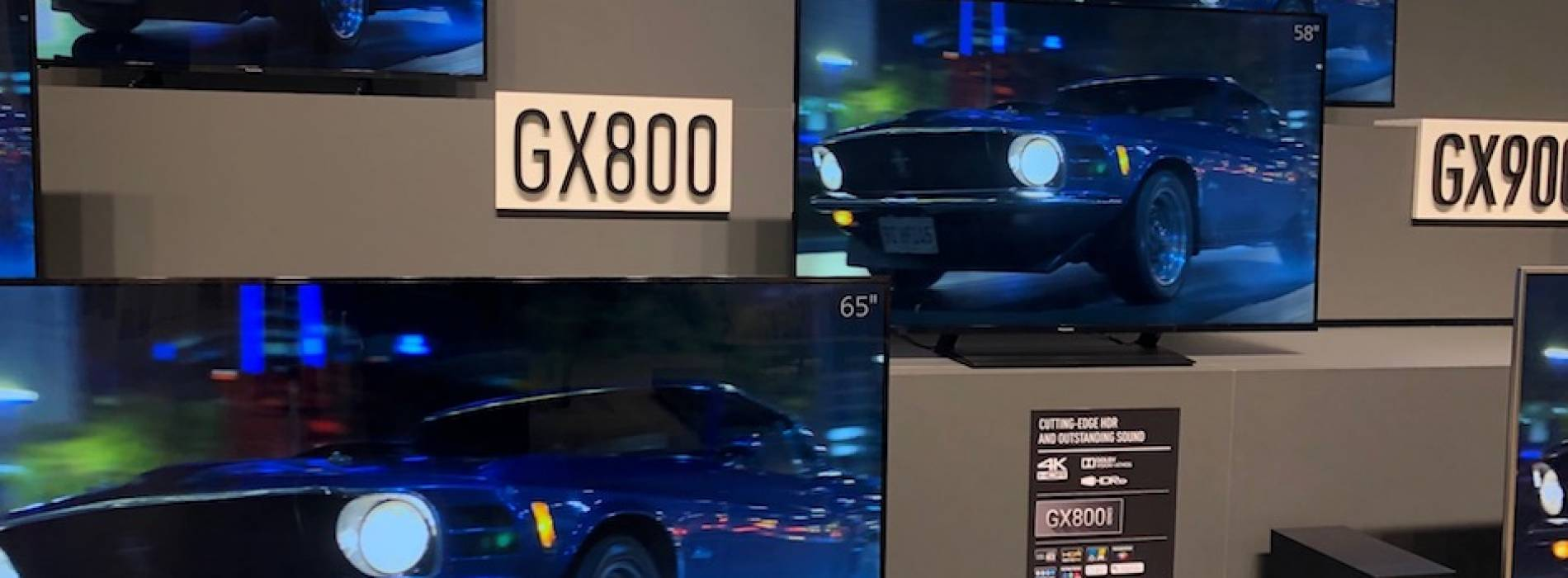 Panasonic presenta la GX800, su nueva TV LED 4K