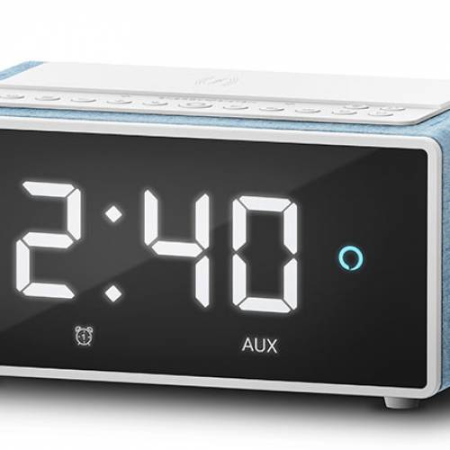 Energy Sistem Smart Speaker Wake Up: lo de 'menos' es que es un imponente reloj-despertador