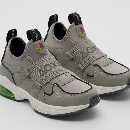 Zara presenta sus zapatillas sneakers PlayStation