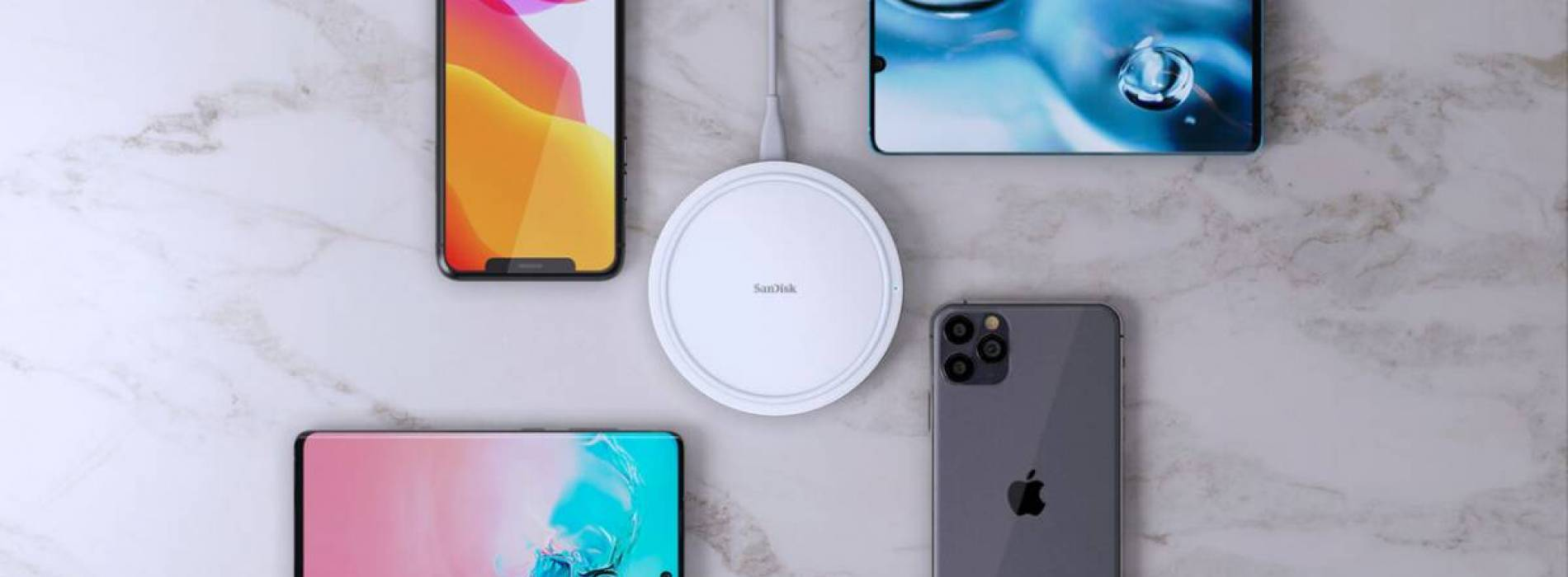 SanDisk IXpand Wireless Charger: carga Qi a 15 w con total fiabilidad